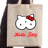 Shopping bag Hello Titty