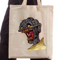 Shopping bag Hungry Zombie