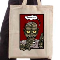 Shopping bag Hungry Zombie Says