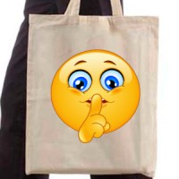 Shopping bag Hush Emoticon