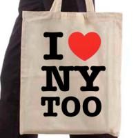 Shopping bag I Love Ny Too