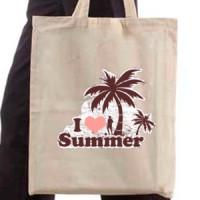 Shopping bag I Love Summer