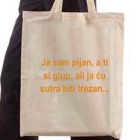Shopping bag I'm Drunk ...