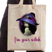 Shopping bag I'm Your Witch
