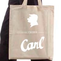 Shopping bag I'm your Carl