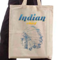 Shopping bag Indian Chief