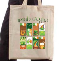 Shopping bag Irish Style
