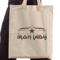 Shopping bag Iron Lady