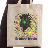 Shopping bag It's about music