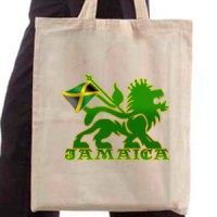 Shopping bag Jamaica Lion
