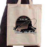 Shopping bag Lake Fishing