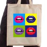 Shopping bag Lips