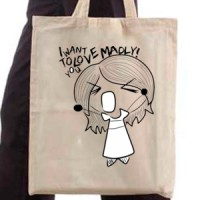 Shopping bag Love Madly