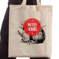 Shopping bag Merry Christmas