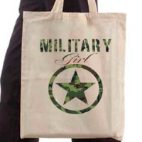 Shopping bag Military Girl