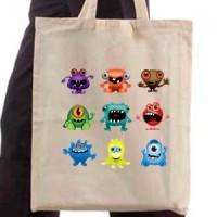 Shopping bag Monsters