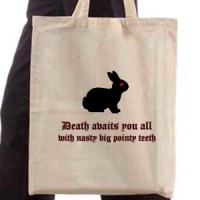 Shopping bag Monty Python - Death Awaits You All