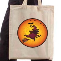 Shopping bag Moon Witch