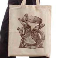 Shopping bag Mystic Hourglass