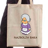 Shopping bag Najbolja baka - Shopping bags