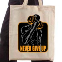 Shopping bag Never Give Up