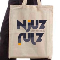 Shopping bag News - White