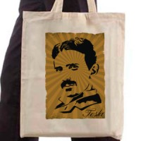 Shopping bag Nikola Tesla