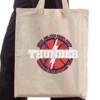 Shopping bag Oklahoma Thunders
