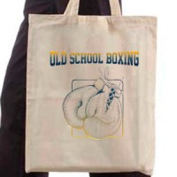 Shopping bag Old School Boxing