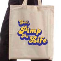Shopping bag Pimp My Life God