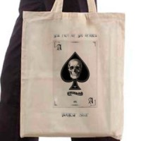 Shopping bag Poker Ace
