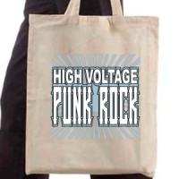 Shopping bag Punk Rock