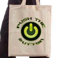 Shopping bag Push The Power Button