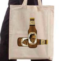 Shopping bag Putin Beer