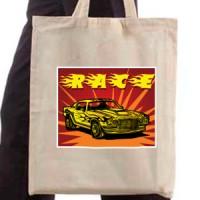 Shopping bag Race Car
