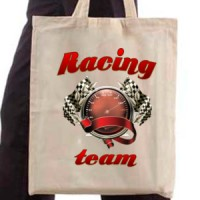 Shopping bag Racing Team