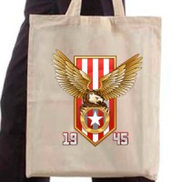 Shopping bag Red And White Eagle