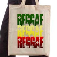 Shopping bag Reggae Colors