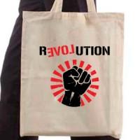 Shopping bag Revolution Love