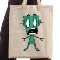 Shopping bag Robot Panic