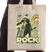 Shopping bag Rock Poster