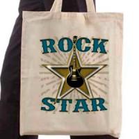 Shopping bag Rock Star
