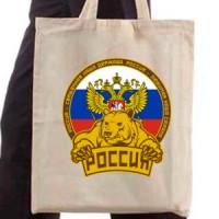 Shopping bag Russian bear