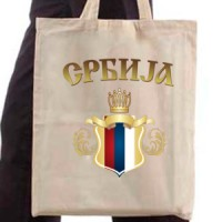 Shopping bag Serbian Coat Of Arms