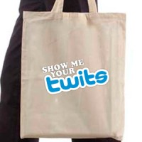 Shopping bag Show Me Your Twits