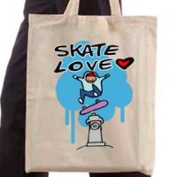Shopping bag Skate Love