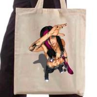 Shopping bag Skater Girl