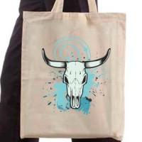 Shopping bag Skull of a bull