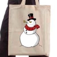 Shopping bag Snowman