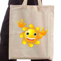 Shopping bag Sun